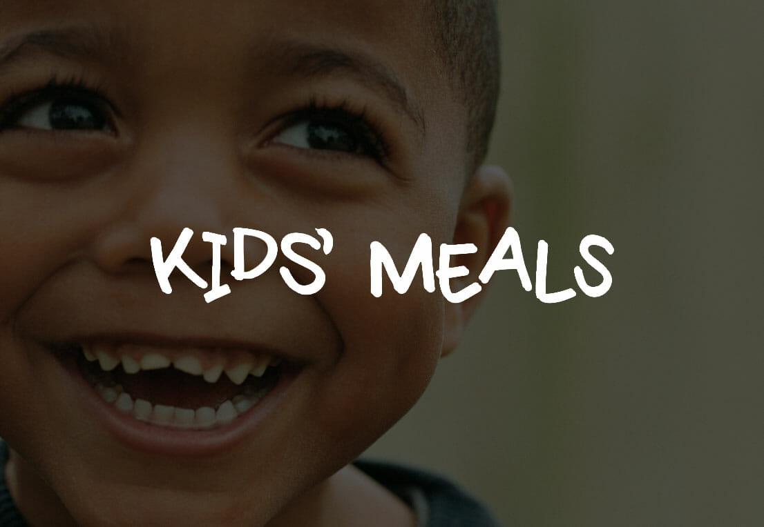kids meals graphic