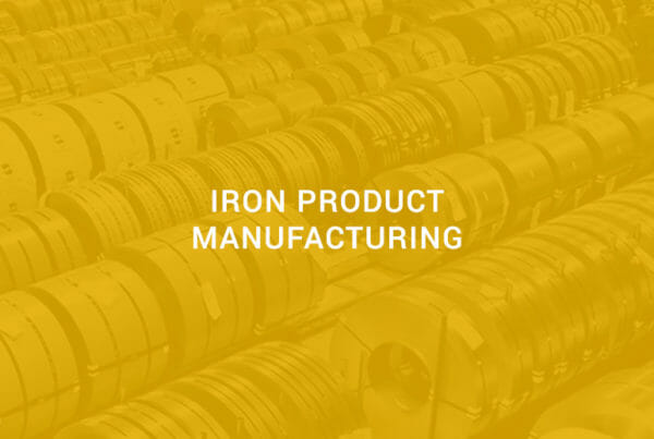 iron product manufacturing
